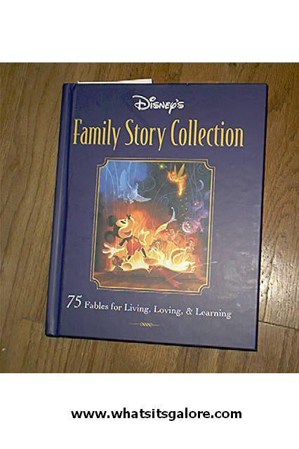 Disney hardcover storybook lot BEAUTY & THE BEAST/Flik the Inventor/FAMILY STORY