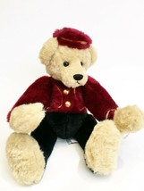 Timothy F. Wuzzie Bellhop Bear Yes No CC1423 Ganz Cottage Collectible - $43.54