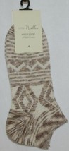 Simply Noelle Cream Tan Ankle Socks One Size Fits Most image 1