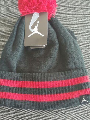 31e113886 Nike Jordan Jumpman Red Stripe Pom Hat Glove and 50 similar items