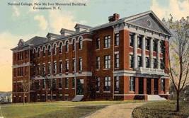 McIver Building University North Carolina Greensboro NC 1912 postcard - $7.87