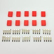 10er Packung - Buchse 4-polig Lüfter Stromanschluss - rot inklusive Pins - $8.44
