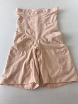 New Spanx Soft Nude High Waisted Mid- Thigh Shaper SZ 1X $78 - $32.00