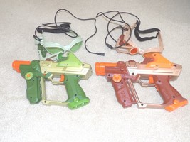 Set of (2) Tiger Lazer Tag Guns w/Glasses - $39.59