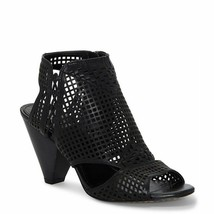 Vince Camuto Emmbell Leather Cut Out Cage Sandals, Multip Sizes Black VC... - $99.95