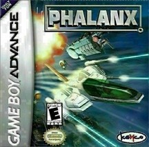 Phalanx (Nintendo Game Boy Advance, 2001) CART ONLY - $15.00