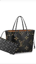 Louis Vuitton Neverfull Bag MM Jungle Giant Tote animal Monogram M44676 - $3,376.40