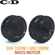 Brushless Gear Hub Kit Motor Ebike Electric Rear Drive 36V 350W 48V 500W... - $287.99