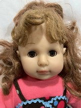"""Madame Alexander Friends 4 For Life 18"""" Doll 2009 w/Outfit Dress Brown Eyes - $39.59"""