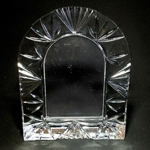 """1 (One) Waterford Arch Cut Lead Crystal Frame 10"""" X 8"""" Discontinued - $70.73"""