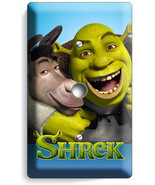 SHREK AND DONKEY LIGHT DIMMER CABLE WALL PLATE COVE KIDS PLAY GAME ROOM ... - $9.89