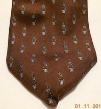 "Mens Geoffery Beene 100% silk Neck Tie 58"" long 3 1/2"" wide #6 Necktie image 3"