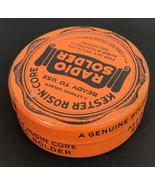 Vintage Kester Radio Solder Genuine Rosin Core Tin w/ solder - $22.26