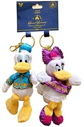 Disney Parks Shanghai Grand Opening Donald Duck And Daisy Duck Plush Stuffed Fig
