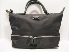 Purse Nine West Black Nylon Water Proof Secret Bottom Shoulder Hobo Bag NWT L183 - $23.61