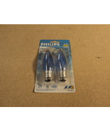 Philips 40w Natural Light Bulbs Candle Blue Tin... - $8.78