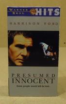 Warner Bros. Presumed Innocent VHS Movie  * Pla... - $4.69