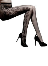 Fashion Mic Womens Floral Print Fishnet Pantyhose Multiple Styles (Free Size,... - $9.89