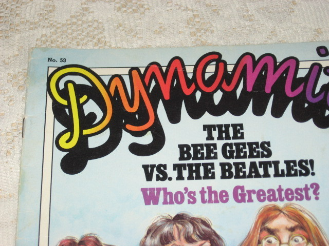 Dynamite Issue #53 - BeeGees vs Beatles Teen Magazine-1978