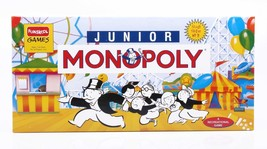 Funskool Junior Monopoly Board Game 2-4 Players Indoor Game Age 5-8 Years - $22.00