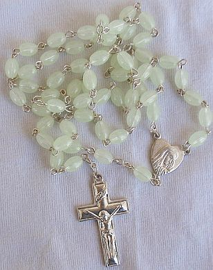 Grapefruit color rosary 2