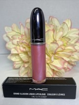 MAC Grand Illusion Liquid Lipcolour RAVE BUNNY New in Box FS Authentic F... - $17.77
