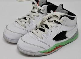 b068852576cc NIKE Air Jordan V 5 Retro BT Poison Green Toddler Shoes 440890-115 10C -