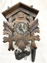 Robert Lotscher Black Forest Cuckoo Clock Switzerland FOR PARTS NOT WORKING - $56.25