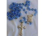 Bluish galss rosary thumb155 crop