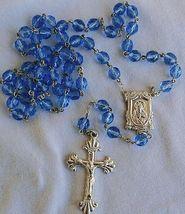 Bluish galss rosary thumb200