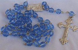 Bluish galss rosary 1 thumb200