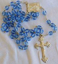 Bluish galss rosary 3 thumb200