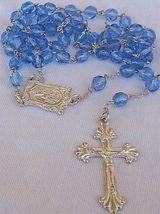 Bluish galss rosary 4 thumb200