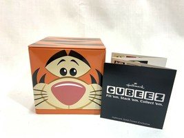 NEW Hallmark Cubeez Tigger Disney Winnie the Pooh Storage Tin Sept. 2014 - $11.87