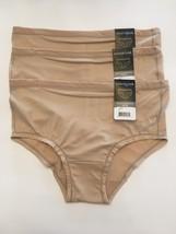 NWT 3 Vanity Fair Seamless 18210 Hipster Panties White