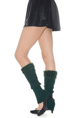 Fashion Mic Womens Fuzzy Fashion Design Leg Warmers Many Styles (free size, f...