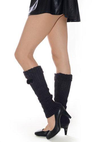 Fashion Mic Womens Fuzzy Fashion Design Leg Warmers Many Styles (free size, l...