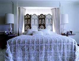 Handira Blanket Wedding Moroccan Blanket Bed Cover Bohemian Style Best Offer - $167.31