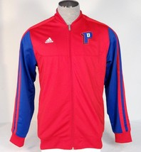 Adidas Performance Red Detroit Pistons NBA Zip Front Track Jacket Men's NWT - $74.99