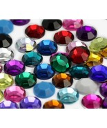 8mm SS40 Assorted Acrylic Rhinestones For Jewelry Making And Face Painti... - $16.69