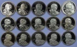 2000 - 2014 S Sacagawea proof dollars - Native American - $94.50