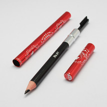 1pc Black Eyebrow Pencils, with Combs and Random Color Aluminum Cover-7538v - $0.95
