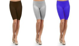 Fashion Mic Women Seamless Slip Shorts 2 or 4 Pair Pack (One Size, ... - $14.84