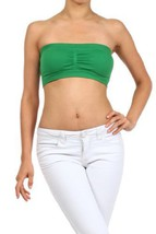 Fashion Mic Womens Bandeau wtih Removable Pads (one size, kelly green) [Apparel] - $6.92