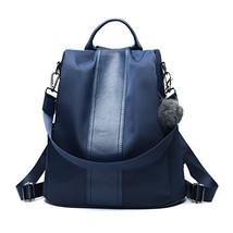 Women Backpack Purse Waterproof Nylon Anti-theft Rucksack Lightweight Sc... - $40.82 CAD