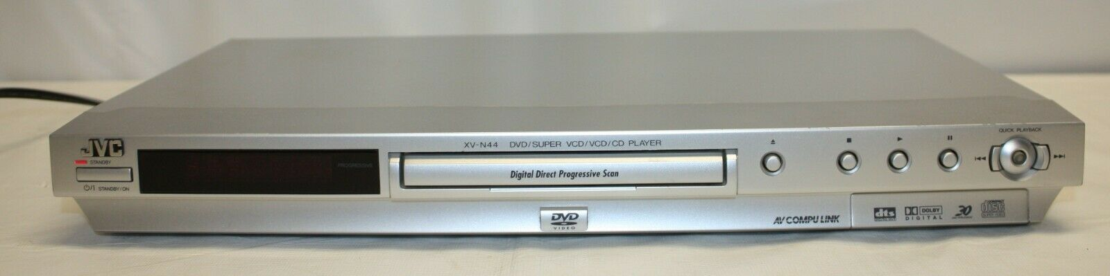 Primary image for JVC DVD / CD Player Model XV-N44SL With Manual TESTED WORKING NO REMOTE