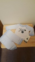 Boston Bruins Hockey NHL 0/3 Months Baby Child Outfit Shirt and Pants Blue - $12.16