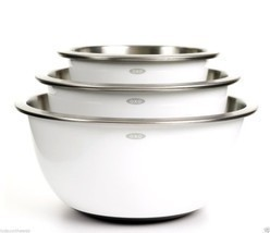 Oxo Good Grips 3 Piece Stainless-Steel Mixing Bowl Set - €55,77 EUR