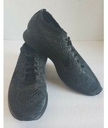 Nike Flyknit Racer Triple Black Trainer 526628-009 Mens Size 7 Womens Si... - $71.95