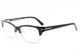 New Tom Ford Tf 5307 053 Havana Eyeglasses Authentic Rx TF5307 52-17 W/CASE - $134.52